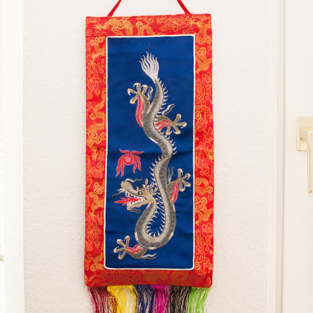 Wandbehang-Wanddekoration-Drache-Nepal-a