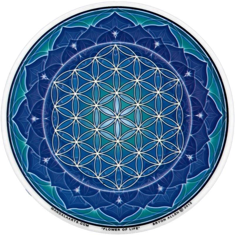 Blume Des Lebens Fensterbild : fensterbild blume des lebens blau 4 60 kan yu ~ Indierocktalk.com Haus und Dekorationen