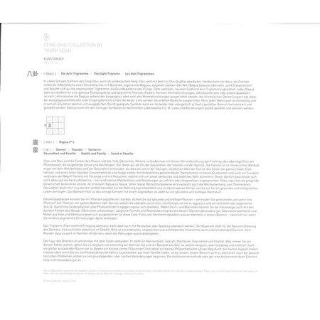 feng shui kunstdruck gesundheit und familie bagua 3 19 9. Black Bedroom Furniture Sets. Home Design Ideas