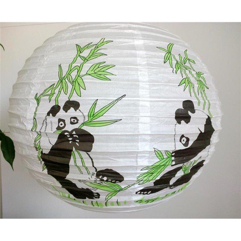 lampion panda wei lampenschirm asiatische lampe ru. Black Bedroom Furniture Sets. Home Design Ideas
