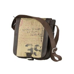 Bull & Hunt Damen-Leder-Tasche Speed Canvas mit...