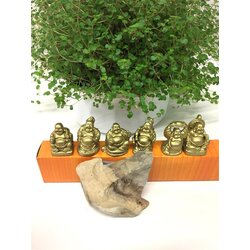 Happy Buddha Figuren Set H3