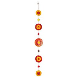 Suncatcher Centrum rot-orange-gelb
