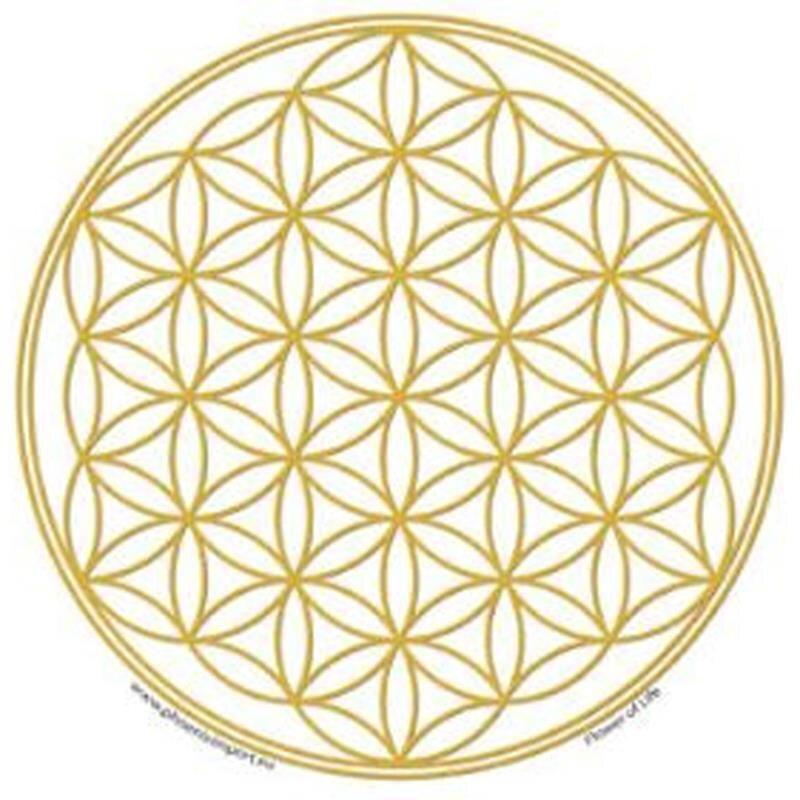 Blume Des Lebens Fensterbild : fensterbild blume des lebens gold 4 90 kan yu ~ Indierocktalk.com Haus und Dekorationen